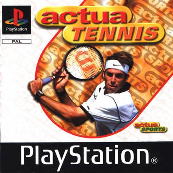 Használt Actua Tennis PS1 játék