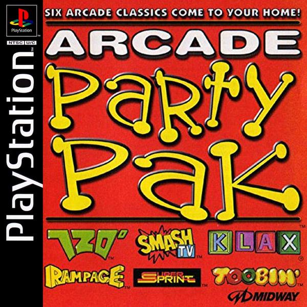 Arcade Party Pak Használt PS1 játék