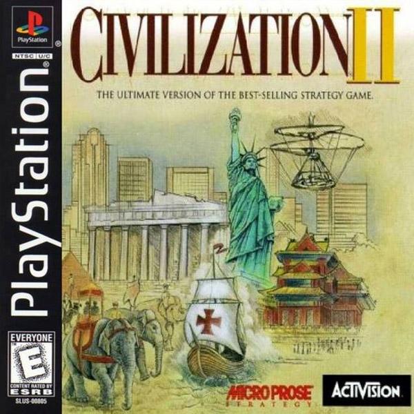 Civilization II PS1 eredeti játék