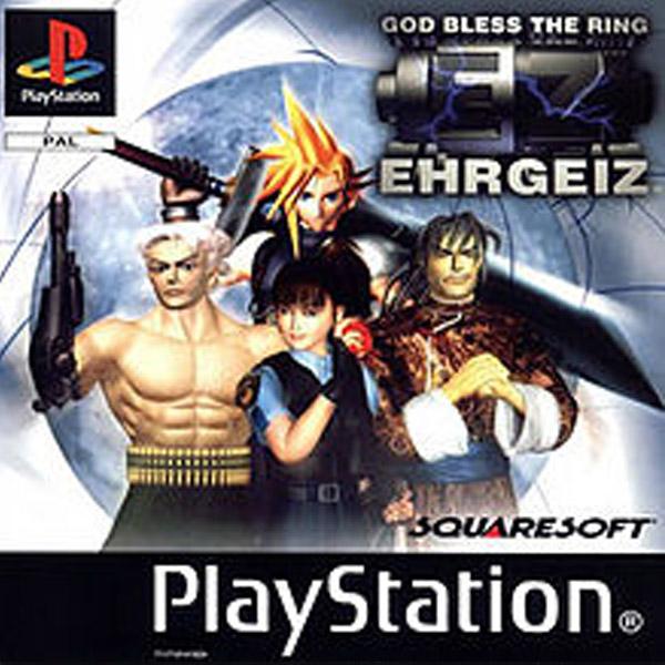 Használt Ehrgeiz PS1 játék