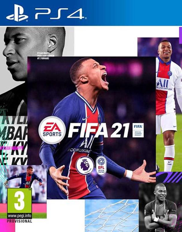 Fifa 21 PS4 játék