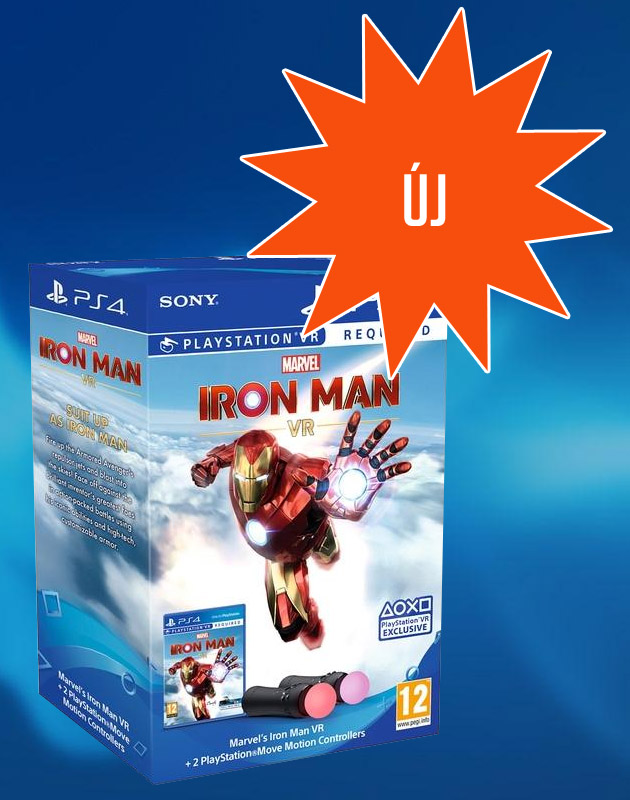 Iron Man VR + Move Twin Pack