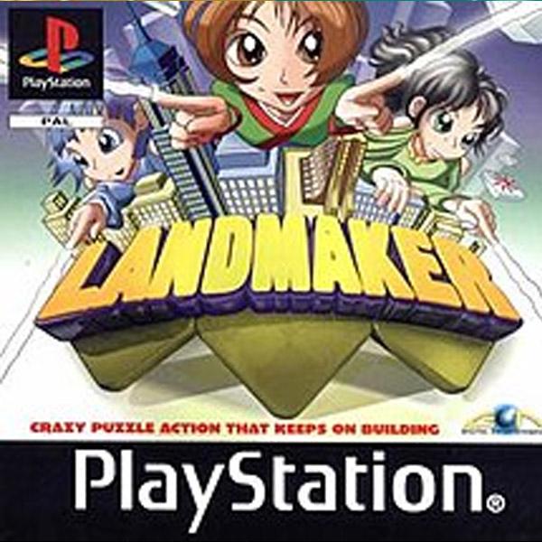 Használt Landmaker PS1 játék