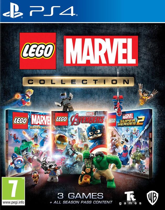 Lego Marvel Collection PS4 játék