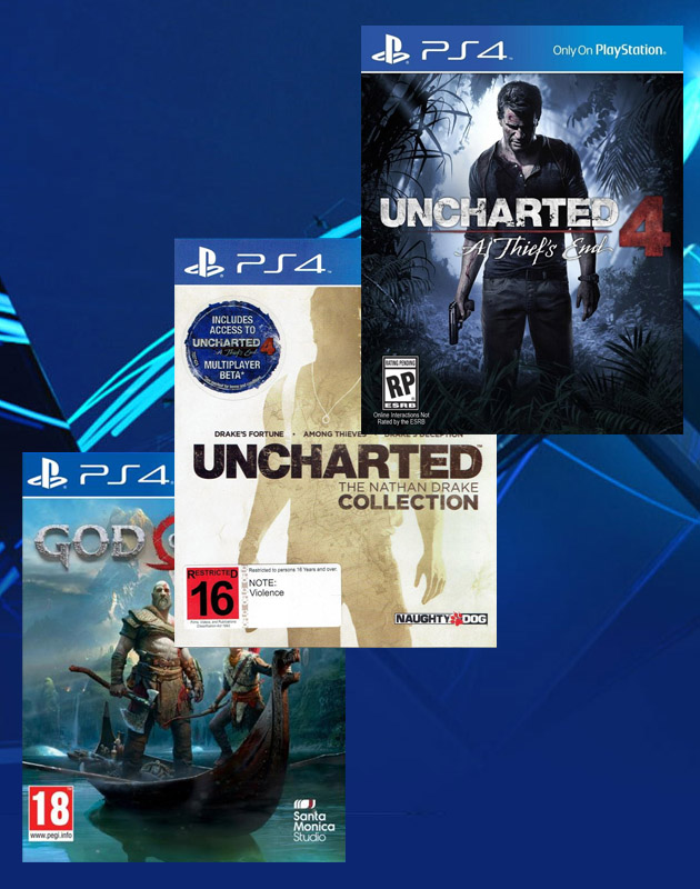 PS4 Collection 3 db játék