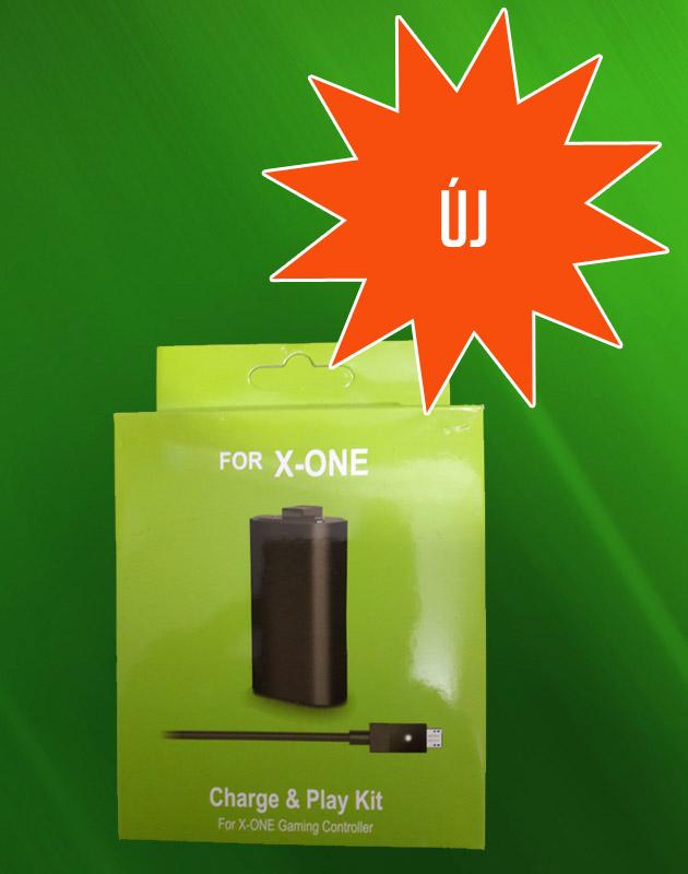 Új Xbox One Charge And Play (aksi + töltő)